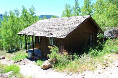 June Lake Cabin by Rental Cabins At Fish Lake Utah Rustic 5 Person Cing