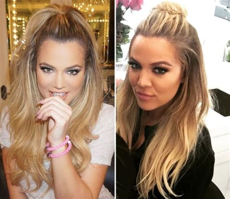 the half up ponytail is the new hun hairstyle: get the