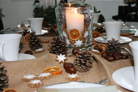 einfache weihnachtstisch dekorationen 15 trend dekoration herbst winter inspiration