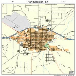 map of fort stockton fort stockton map 4826808
