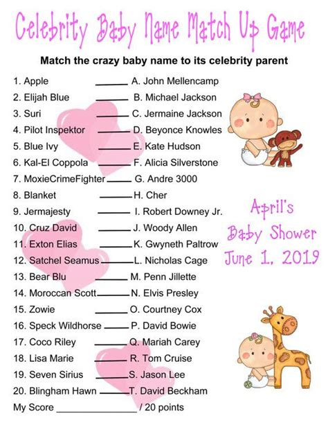 theme names for games 17 best images about baby shower games on pinterest