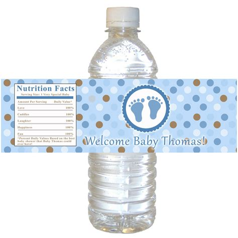 Baby Nutri Blue Mini Water Based Pomade By Oh printable personalized baby treads water bottle by pinkthecat