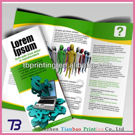 cheap professional leaflet brochure poster flyer