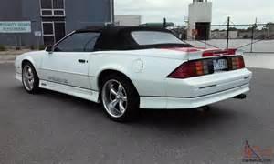 chevrolet camaro iroc z28 convertible rhd 91 not buick