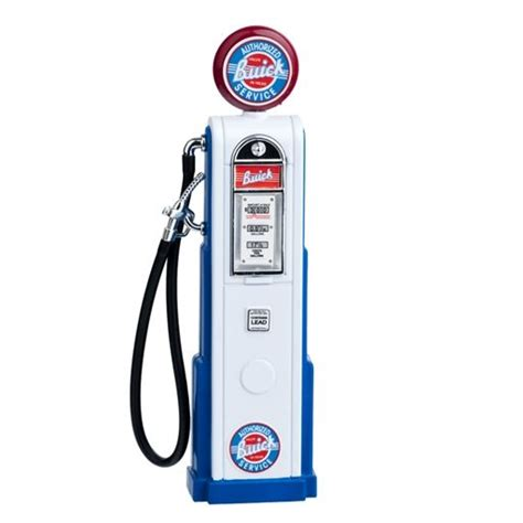dollhouse x gasoline white fashioned buick service gas gas pumps