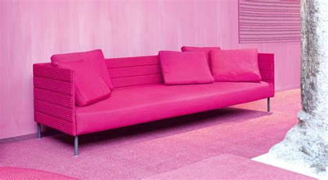 pink sofa furniture pink patio sofa from luminaire