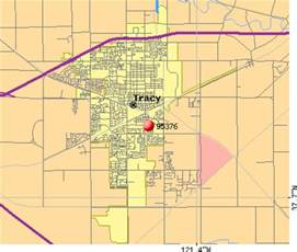 where is tracy california map