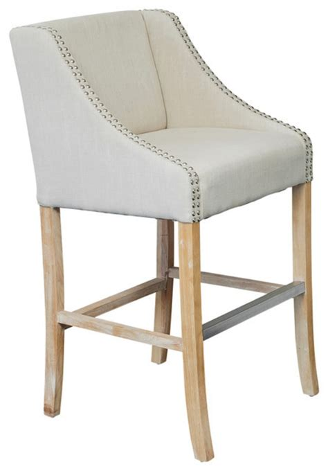 fabric counter stools with backs springfield single light beige fabric counter stool