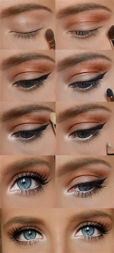 eyeliner tutorial for school 22 pretty eye makeup ideas for summer pretty designs