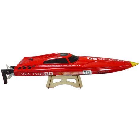 vector 80 rc boat jk boats vector 80 brushless boat artr 800mm hobby habit