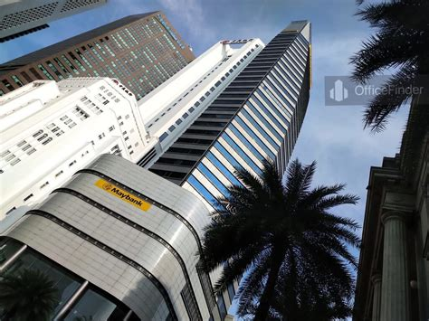 maybank tower office space  rent sale office finder singapore