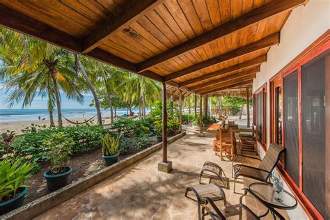 costa rica vacation rentals premier beach front property