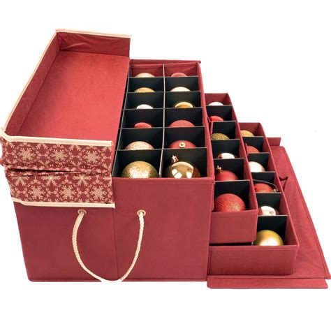 christmas ornament keeper in ornament storage boxes