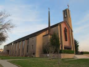 Was back inland at our lady of victory cathedral in victoria texas