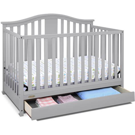 cribs with changing table and storage convertible cribs reviews storage baby beds walmartcom