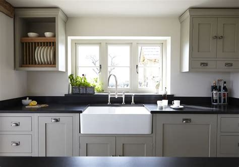 Farrow And Shaded White Kitchen Units by Modern Country Style Farrow And Hardwick White For