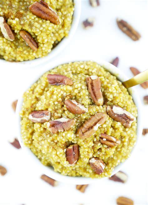 protein quinoa bowl pumpkin protein quinoa bowl