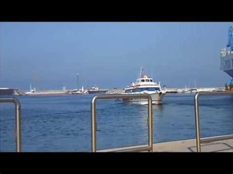 porto di palermo partenze siremar masaccio aliscafo siremar in partenza dal porto