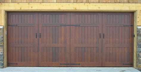 Wooden Garage Door Panels by Wood Garage Door Vanityset Info