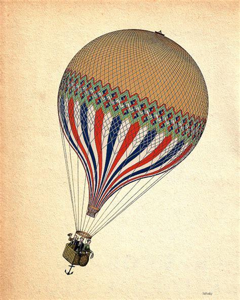 Vintage Air Balloon Decor vintage air balloon
