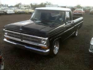 1972 ford custom truck 1972 ford f 100 custom 117059