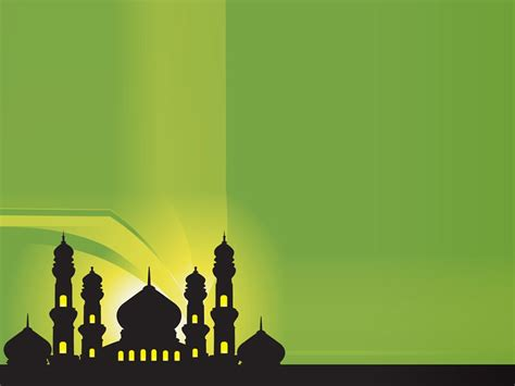 silhouette  mosques islamic desain banner seni