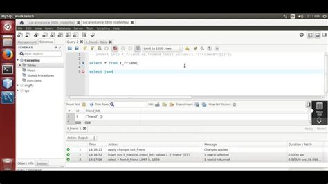 tutorial json php mysql mysql 5 7 mysql json data type exle youtube