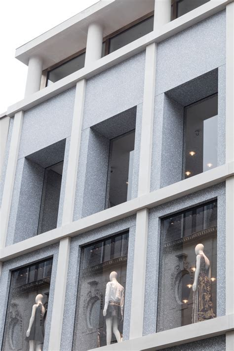 Retail Detail Is Hm Going High End Second City Style Fashion by David Chipperfield Architects Valentino Flagship Store