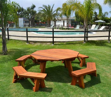 picnic bench ideas 24 picnic table designs plans and ideas
