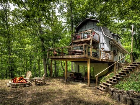 City Cabins by Secluded Two Bedroom Mountain View Chalet Near Bryson City Nc In The Smoky Mountains