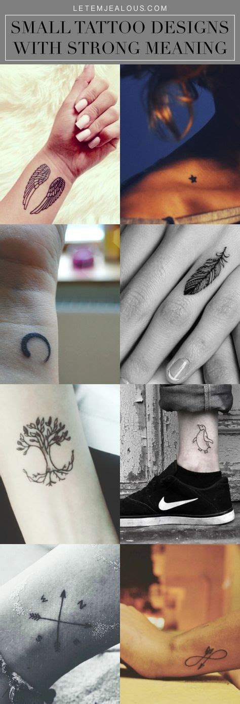 tattoos that mean strong best 25 small tattoos ideas on small