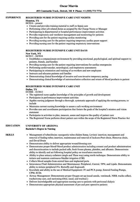 charge nurse job description for resume sample resume for nurses