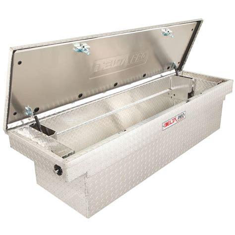 delta tool box delta delta pro 71 in aluminum single lid size crossover tool box in bright