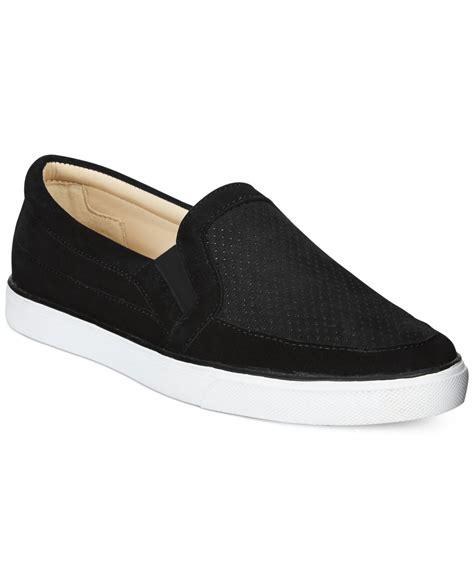 nine west buggaboo slip on sneakers in black