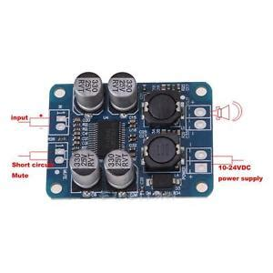 Tpa3118 Pbtl Mono Digital Lifier Board 1x60w 12v 24v Power Modu tpa3118 tpa3118 pbtl mono digital lifier board 1x60w 12v 24v power car ebay
