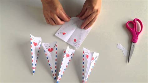 printable paper airplane card paper airplane valentine youtube