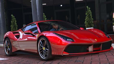 ferrari 488 gtb 2015 ferrari 488 gtb add on gta5 mods com