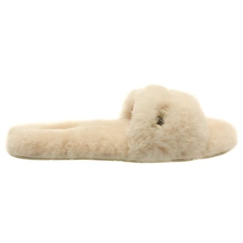 slide on slippers buy ugg 174 australia womens fluff slide slippers at