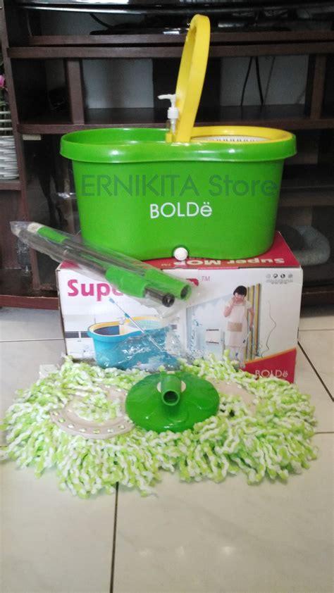 Alat Pel Bolde Supermop 169x jual alat pel mop bolde m 169x plus botol pewangi drainase ernikita store