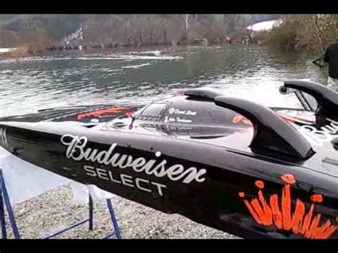 hpr 233 rc boat for sale 233 hpr budweiser select youtube