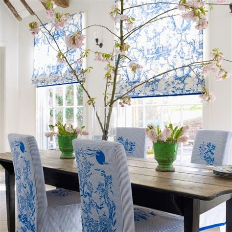 Blue And White Dining Room by Chinoiserie Chic Blue And White Dining Room Diy