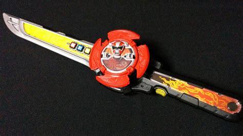 Power Ranger Steel Shuriken ichibantou sword review shuriken sentai ninninger