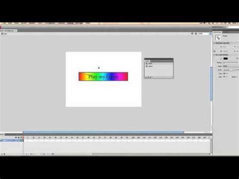 tutorial flash programming flash programming tutorial adding a menu screen youtube