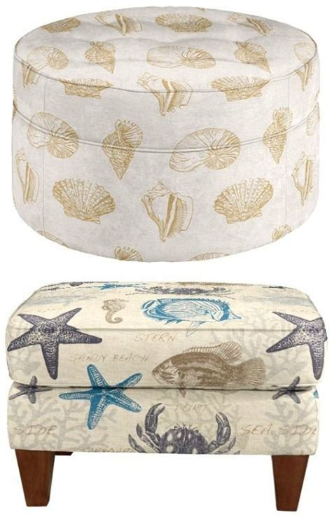 Nautical Storage Ottoman 282 Best Coastal Furniture Images On