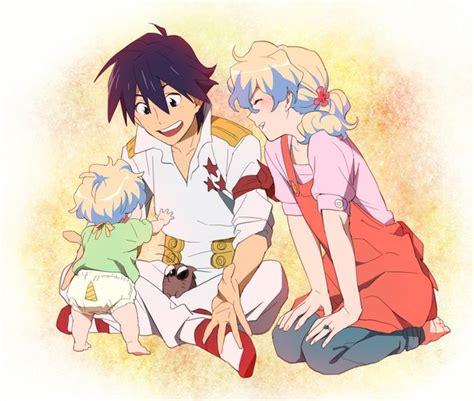 imagenes anime niñas gurren lagann nia and simon hentai pictures аниме
