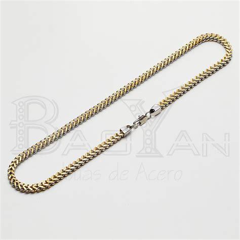 www cadenas de oro joyas de acero para hombre cadena color de oro y plata us