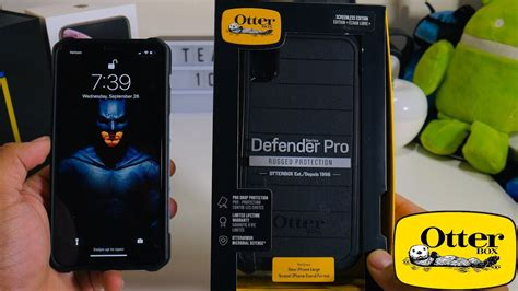 otterbox iphone xs max defender pro the ultimate protection