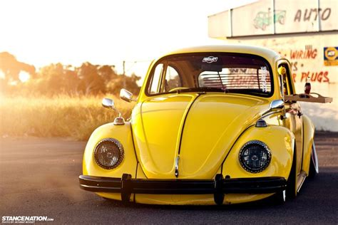 old volkswagen yellow cola bug http www stancenation com 2013 05 06 a bug