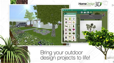 3d home design software android home design 3d outdoor garden slides into the play store