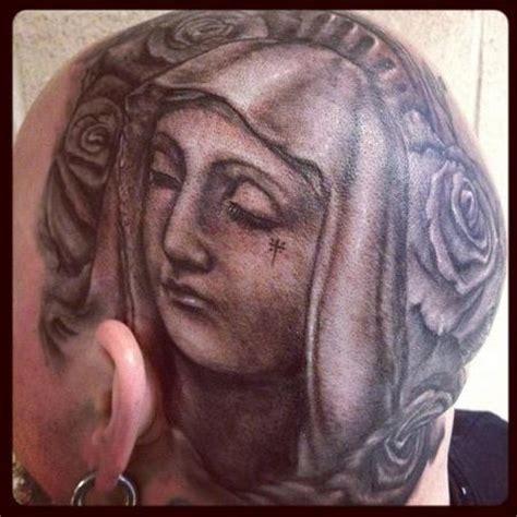 art junkies tattoo studio : tattoos : religious mary